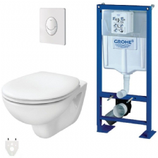 Pack Wc supendu Autoportant Grohe